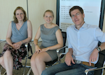 Д-ра Krina Zondervan, Nilufer Rahmioglu и Christian Becker из Оксфордского университета, являющиеся частью команды IEC и исследования ENDOX